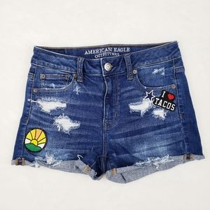"""American Eagle Outfitters """"I love tacos"""" Shorts"""